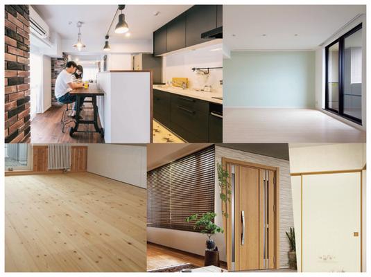 増改築・壁紙・クロス・床・畳・ドア・カーテン・襖などの住まいのリフォーム全般を対応しております。