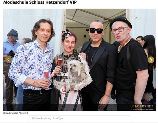 Modeschule Hetzender Juni 2018 - Christine Rohr Master Milliner