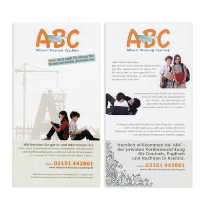 Flyer für Nachhilfeinstitut, Krefeld