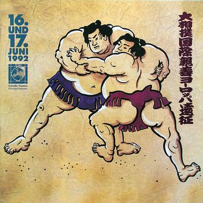 Illustration für eine Broschüre über den japanischen Nationalsport Sumo, Düsseldorf