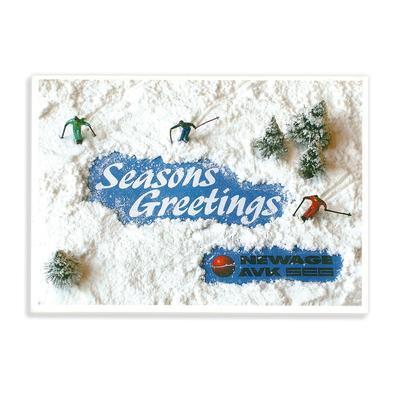 Weihnachtskarte für die NEWAGE AVK SEG, Kempen