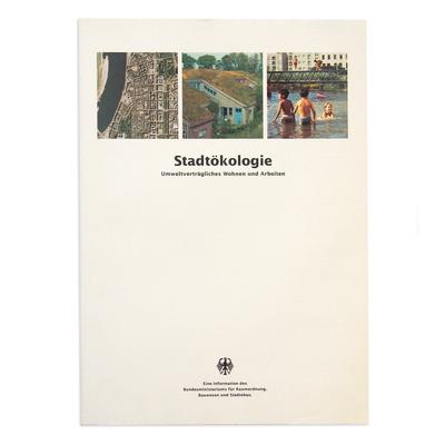 Broschüre für das Bundesministerium für Raumordnung,  Bauwesen und Städtebau - zusammen mit Walter Kellermann erstellt - für die Agentur Severin & Partner, Düsseldorf und Berlin