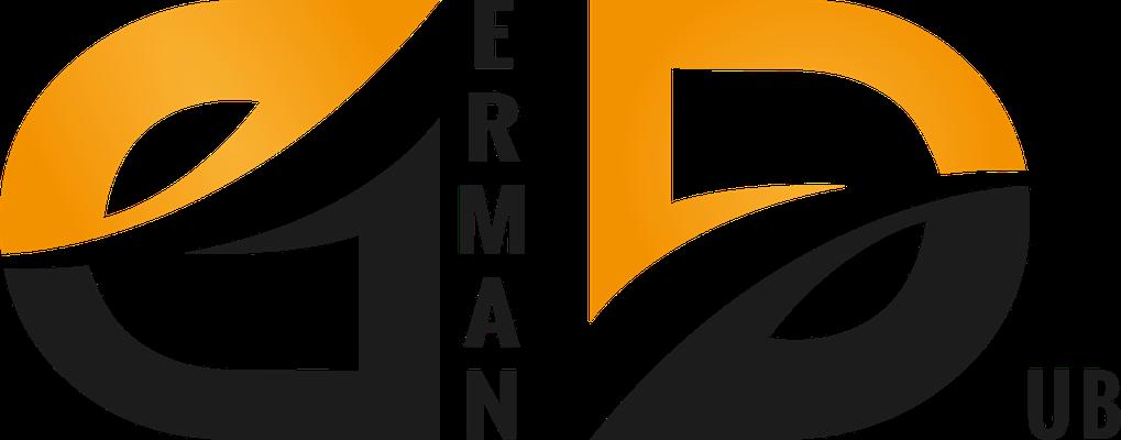 """Das Design ist im Grunde nicht von mir aber ich habe das Logo remade. Das alte Logo von """"GermanDub"""" war leider sehr Verpixelt."""