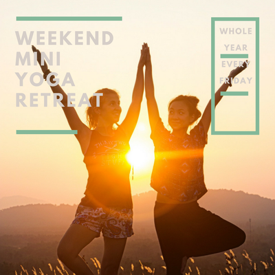 WEEKEND MINI YOGA RETREAT