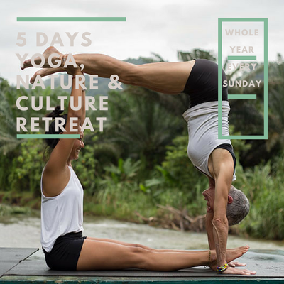 5 DAYS YOGA NATURE AND CULTURE RETREAT
