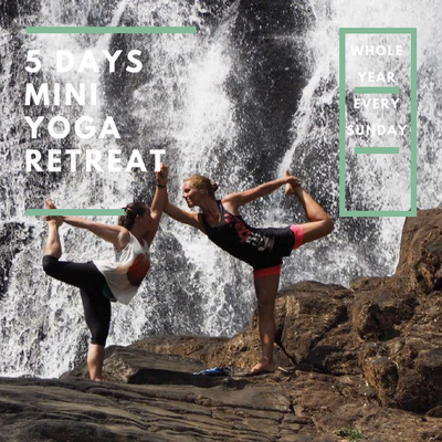 5 DAYS MINI YOGA RETREAT