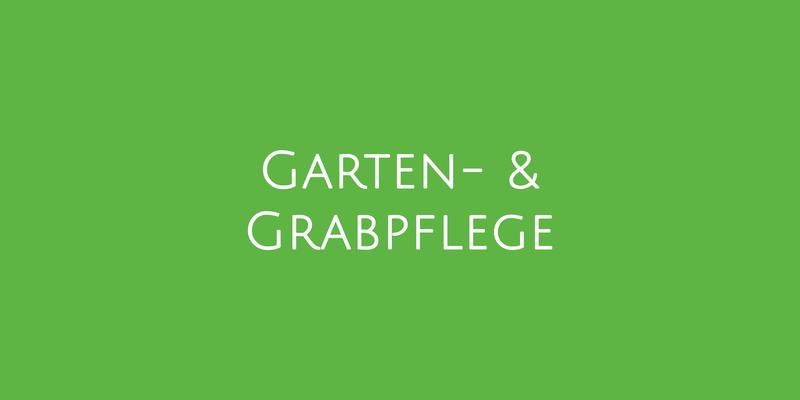 Gartenpflege und Grabpflege
