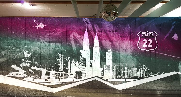 KIRCHGEMEINDEHAUS THUN, Idee kreativ, Grafik, Werbetechnik, Wandgestaltung, Kreativ, Bern, Zürich, Schweiz