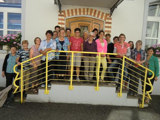 Besuch am 03.09.2013 - Bäuerinnen-Verein, Kaltbrunn