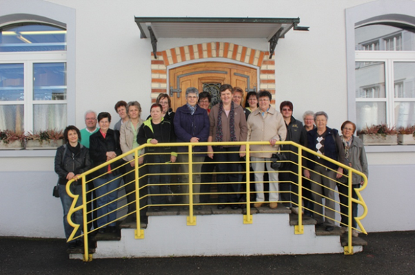 Besuch am 09.04.2013 - Frauen- und Mütterverein Wägital