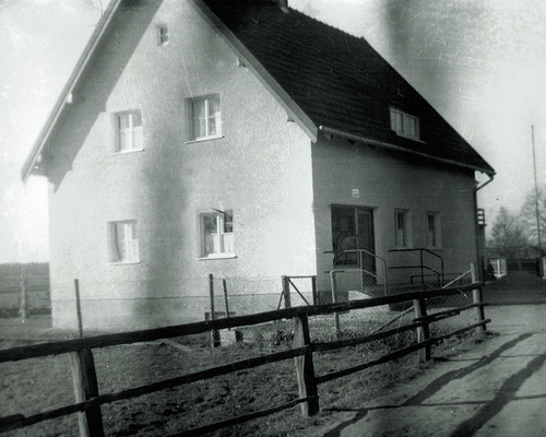 Altes Haus mit Ladengeschäft