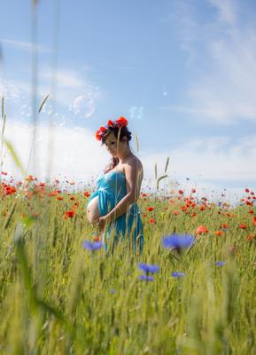 Babybauchshooting auf Usedom