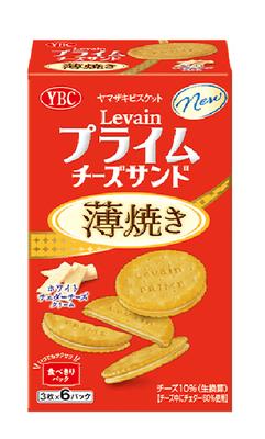 ルヴァンプライムチーズサンド薄焼き ホワイトチェダーチーズクリーム