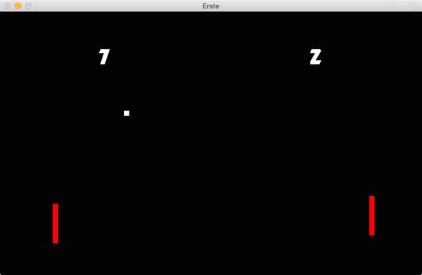 Erste game screen