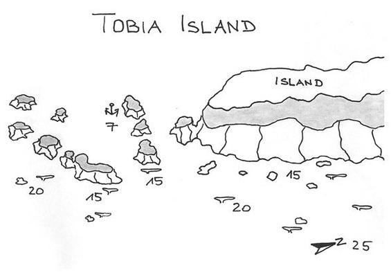 Tobia Island, Tauchen und Schnorcheln,Sandinsel, Safaga