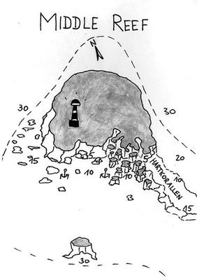 Middle Reef, Steilwand, Korallengarten, Strömung,wettergeschützter Tauchplatz, Safaga