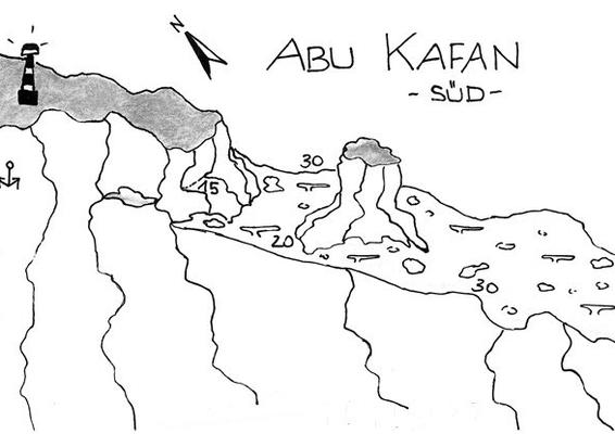 Abu Kafan Süd, Plateau, Steilwände, Dropp Off, Strömungstauchen, Tieftauchen, Safaga