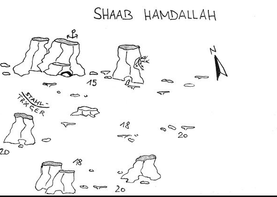 Shab Hamdalah, Wracknähe, Safaga, Korallentürme