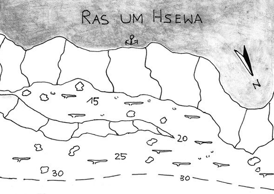 Ras Um Hsewa, Shab Saiman,Safaga, gute Wetterbedingungen