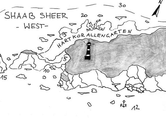 Shab Shear West, Leuchtturm, Safaga