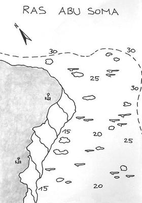 Ras Abu Soma, erste Steilwand von Safaga, bei jedem Wetter möglich, großes Plateau