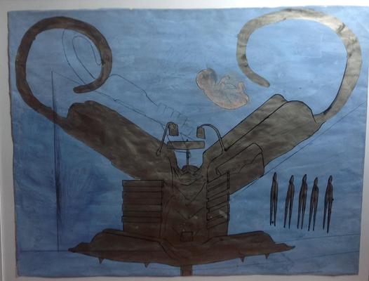 Bruno Gironcoli, Untiteled, mixed technique_ca 1990 (c) Galerie Walker