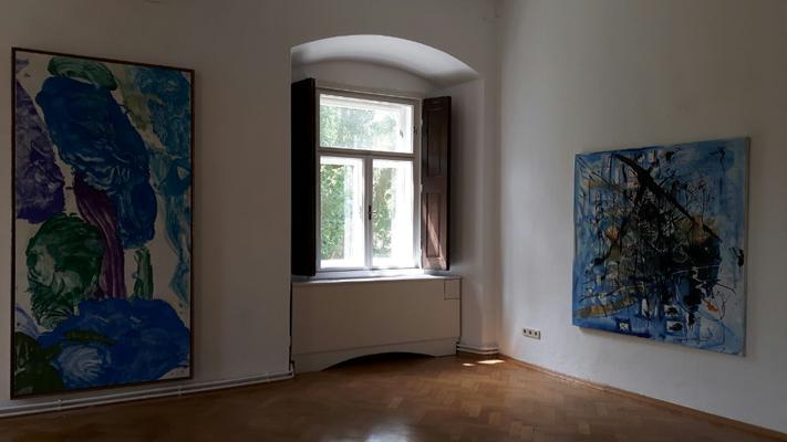 Sommerausstellung Schloss Ebenau 2018 © Max Weiler Nachlass und Hans Staudacher