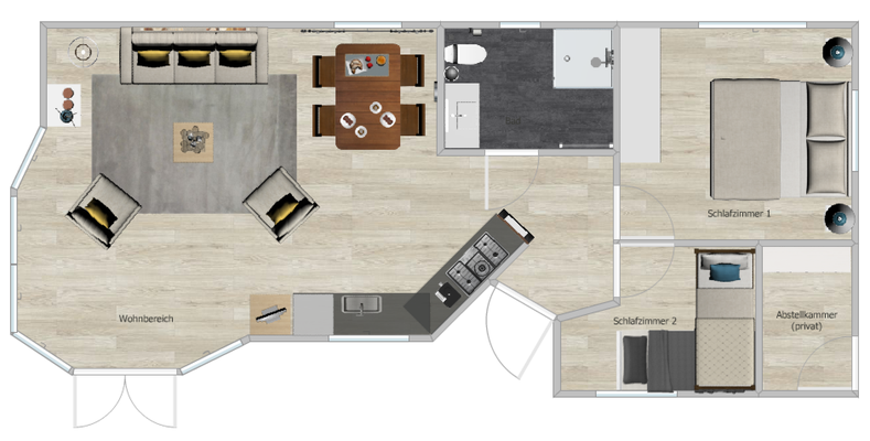SV29 Ferienhaus Chalet Hollandtraum - Grundriss