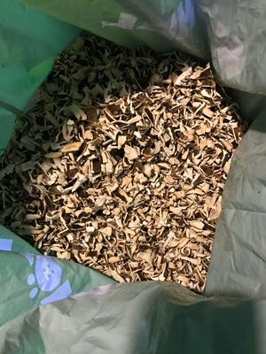 Getrocknete, kleingeschnittene Fruchtkörper, 1,2 Kilo