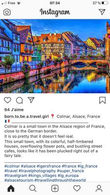 """La Petite Venise Colmarienne via Instagram un monde """"Fairy tail"""""""