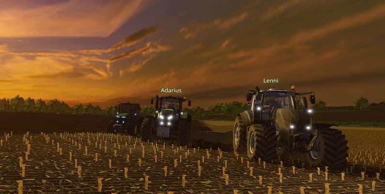 Die größeren Felder hingegen brauchen schon etwas mehr Power.