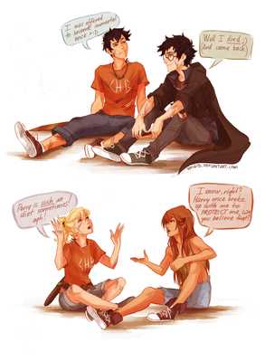 Harry Potter x Percy Jackson