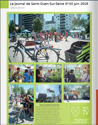 Le Journal de Saint-Ouen-Sur-Seine N°43 Juin 2019