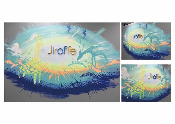 株式会社ジラフ/オフィス壁画制作