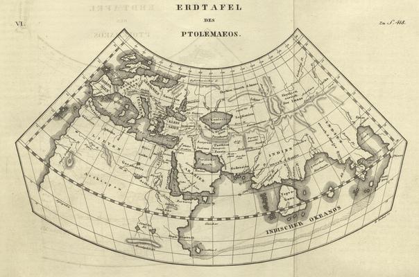 Erdkarte Ptolemaeos