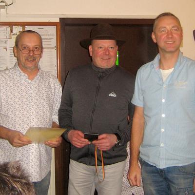 Ronny Mirtschink - Zweiter Wanderpokal 'Karl-Seitz-Gedächtnispokal' 2016. (Bild: Rainer Weiß)