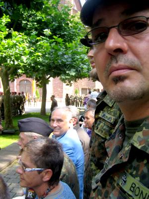Ein Blick auf einen Teil unserer Delegation. Ganz rechts und in Groß: Stefan Bonn. (Bild: R. Weiß)