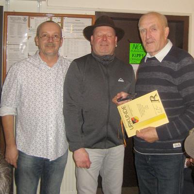 Peter Hamsik - Dritter Vereinsmeisterschaft 2016. (Bild: Rainer Weiß)