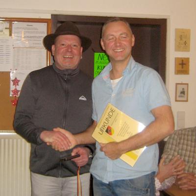 Ronny Mirtschink - Zweiter Vereinsmeisterschaft 2016. (Bild: Rainer Weiß)