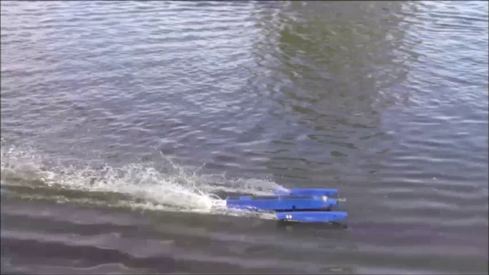 jetzt geht`s zu einem kleinen Check ans Ufer