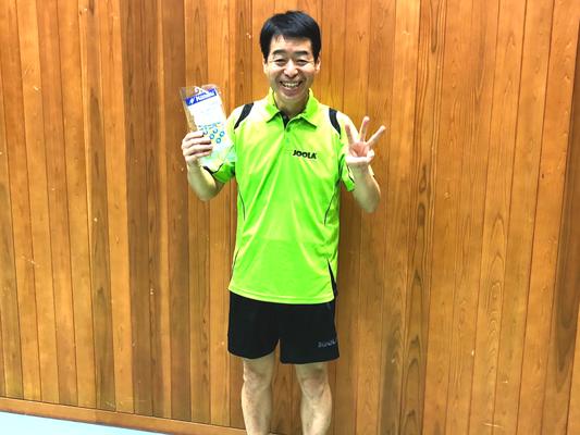 男子40歳以上・3位:森田選手