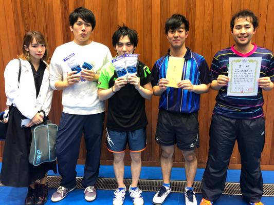 男子 決勝トーナメント 3位:筑波大OB