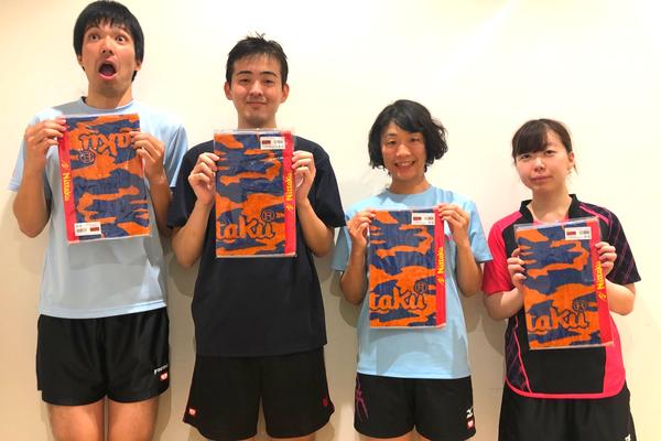 2位トーナメント優勝:ちょっぱ~ず(B)