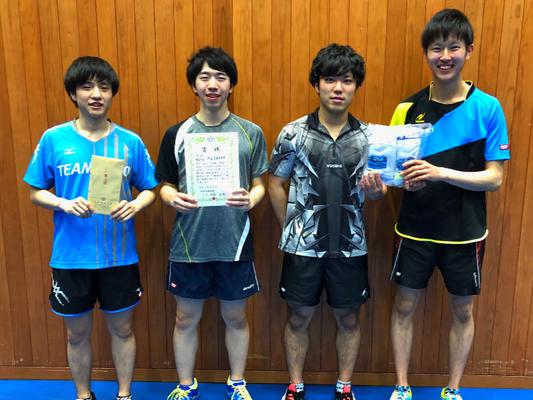 男子 決勝トーナメント 準優勝:チームSAKAE