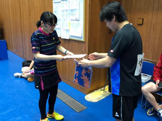 女子40歳以上・優勝:瀬ロ選手