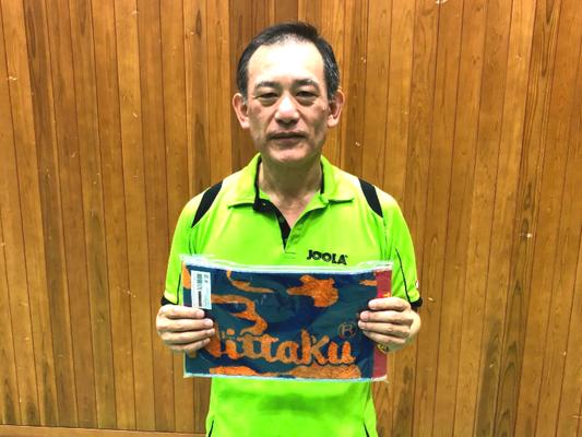 男子シニアの部A 準優勝:先田選手(サタデーズ)