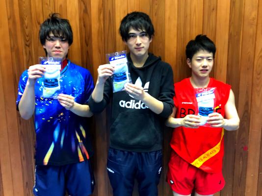 男子 3位トーナメント 優勝:Newera&大東文化大