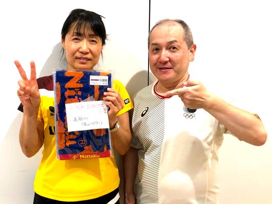 女子50歳以上 準優勝:長谷川選手