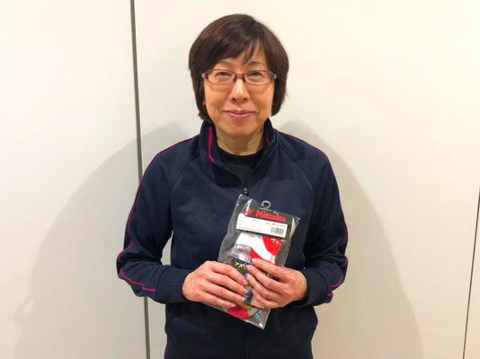女子50歳以上 準優勝:川野選手(メカニコング)