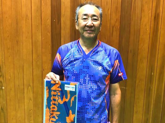 男子60歳以上 準優勝:小倉選手